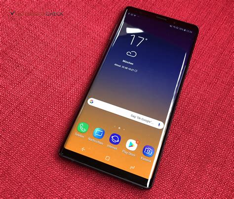 samsung galaxy note 9 smartphone review notebookcheck net reviews