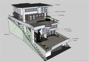 houses on a slope designs search slope house