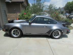 porsche whale for sale 1986 porsche 911 coupe 2 door 3 2l widebody with