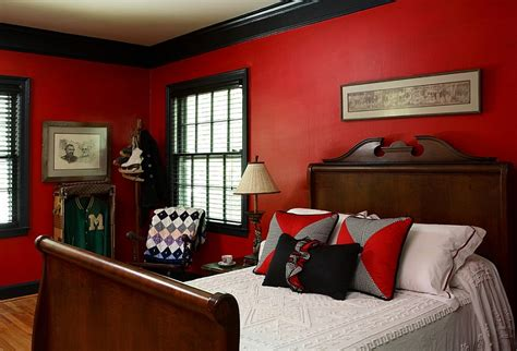 red black  white interiors living rooms kitchens bedrooms