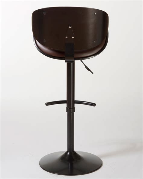 bar stools boston hillsdale boston backless non swivel bar stool espresso