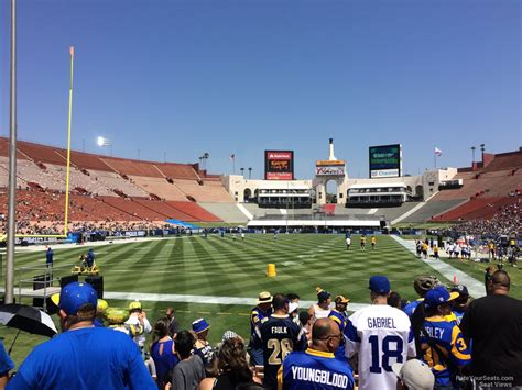 section 13 a los angeles memorial coliseum section 13 rateyourseats com