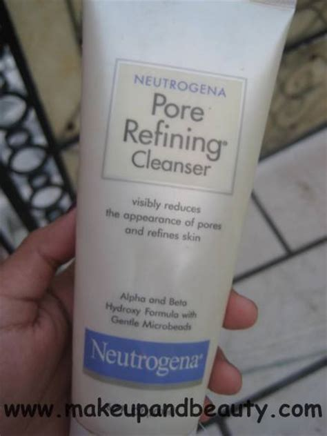 Neutrogena Pore neutrogena pore refining cleanser indian makeup and