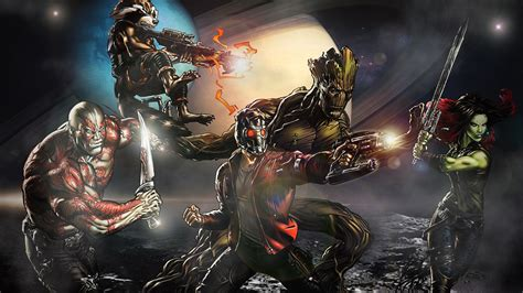 The guardians of the galaxy by professoradagio on deviantart
