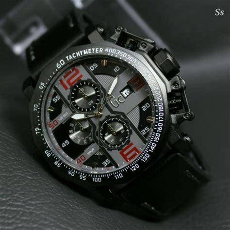 Jam Tangan Gc Gues Leather Coklat Crono Aktif Kw jual beli jam tangan pria gc guess collection crono