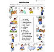 DAILY ROUTINES AND ACTIVITIES  English Portfolio