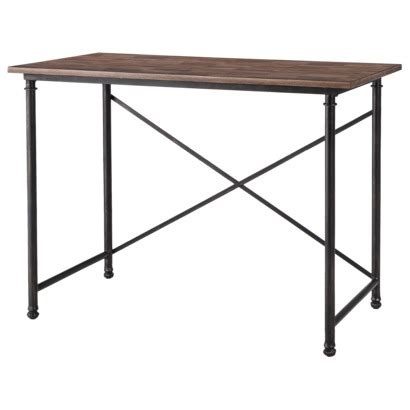 diy or have your awesome dad help metal frame desk be