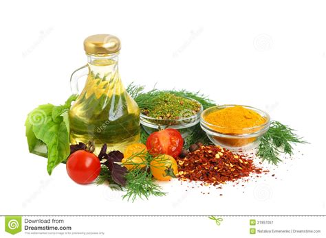 Kitchen Ingredients by Ingredients For Cooking Royalty Free Stock Photography