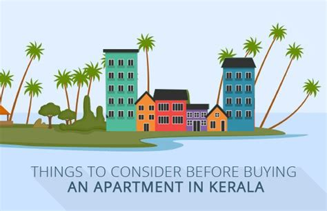 checklist to consider before buying an apartment in kerala