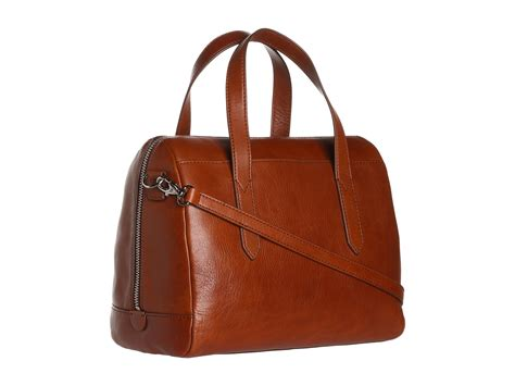 Fossil Satchel 578 5 fossil sydney satchel zappos free shipping both ways
