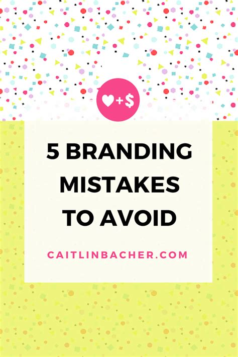 Top Ten Branding Mistakes To 5 Mistakes To Avoid When 28 Images 5 Financial