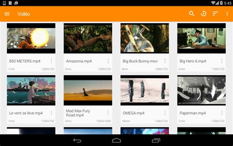 android library index of vlc screenshots android