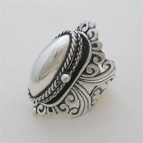 taxco sterling silver poison ring