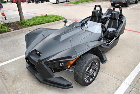 matte black color polaris slingshot matte black color change car wrap