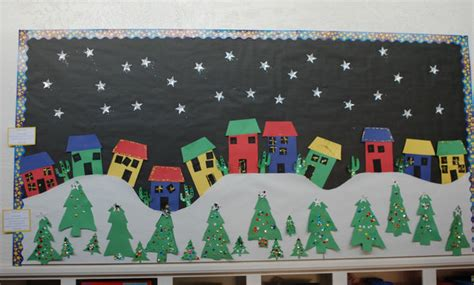 christmas board decoration bulletin boards door decorations