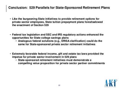 Irs Section 529 by 529 Market Development Parallels For State Sponsored Sector