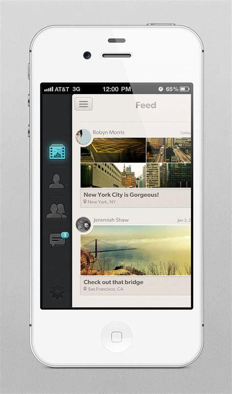 design inspiration app iphone 43 stunning mobile app ui designs inspiration web
