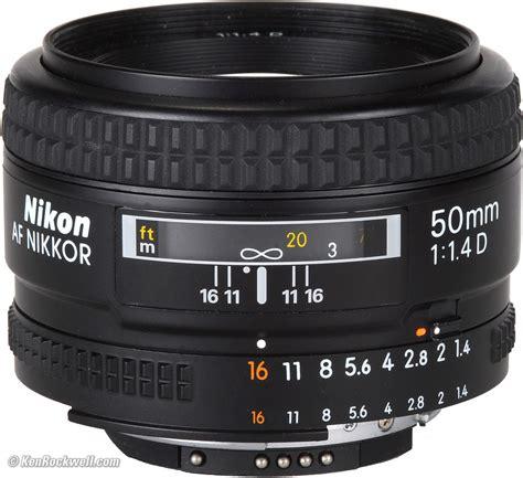 Nikon Lensa Af 50mm F 1 4d Hitam nikon 50mm f 1 4 af d review