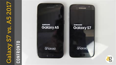 Samsung A3 Di Okeshop Confronto Galaxy A5 2017 Vs S7
