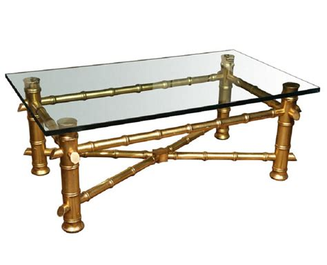 gold bamboo glass coffee table gold bamboo coffee table coffee table design ideas