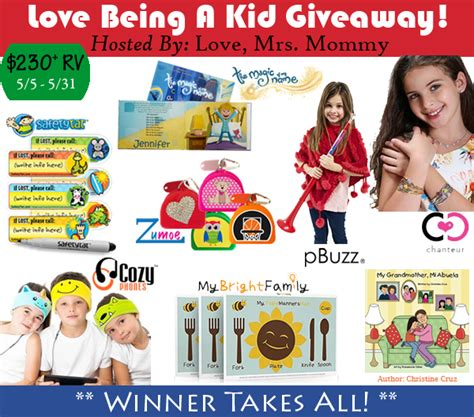 Kid Giveaways - love being a kid giveaway ends 5 31 the homespun chics
