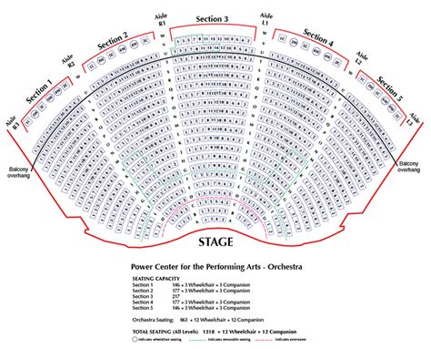 um school of music theatre klipsch center seating chart ruoff home mortgage music
