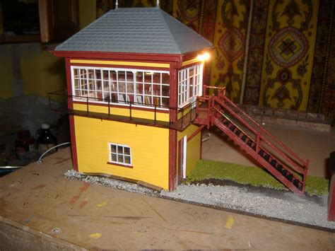 kenley signal box is an entrant for shed of the year 2012 howes sidings signalbox g r penzer o gauge model railway