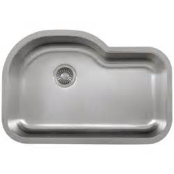 Ticor Kitchen Sinks Ticor S113 Undermount 16 Stainless Single Bowl Kitchen Sink