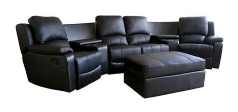 Leather Recliner Sofa by 4 Seat Leather Reclining Sofa Leather Reclining