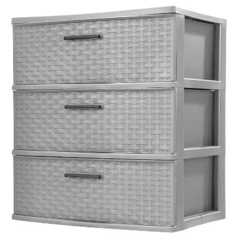 sterilite 4 drawer wide weave tower carts drawer storage target