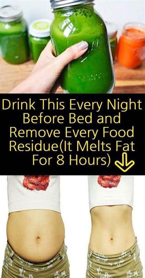 Detox Drink Before Bed by Drink This Every Before Bed And Remove Every Food