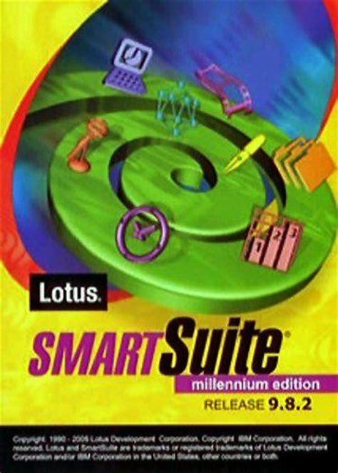 lotus smartsuite windows 8 ibm lotus smartsuite smart suite 9 8 2 1 2 3 wordpro