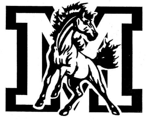 mustang horse drawing mustang horse logo clip art