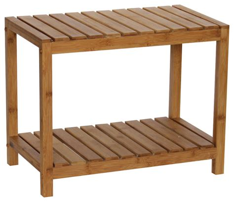 bamboo spa bench bamboo natural spa bench natural transitional shower benches seats by