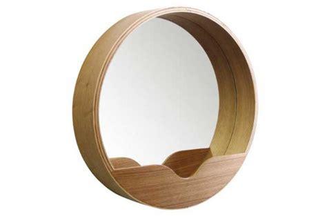 Miroir Rond 60 Cm by Miroir Rond Avec Rangement 60 X 8 Cm Miroir Rond Et