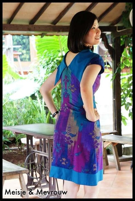 Dress Tenun Bali dress made of tenun sidemen bali combine with high quality