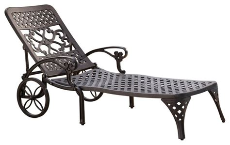 tall chaise lounge biscayne black chaise lounge chair mediterranean