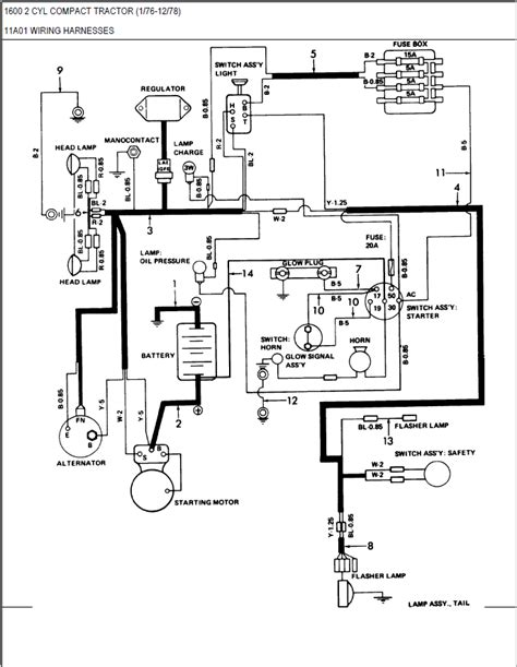 1100 ford tractor wiring diagram wiring diagram schemes