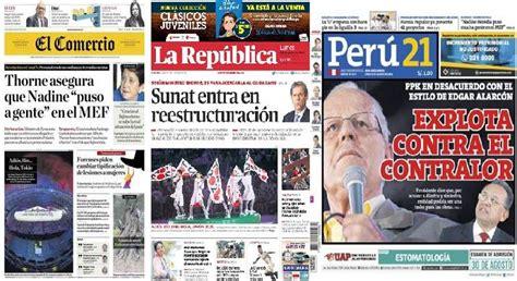 contralor general de la republica del ecuador revista de prensa de per 250 zavala ppk critica la labor
