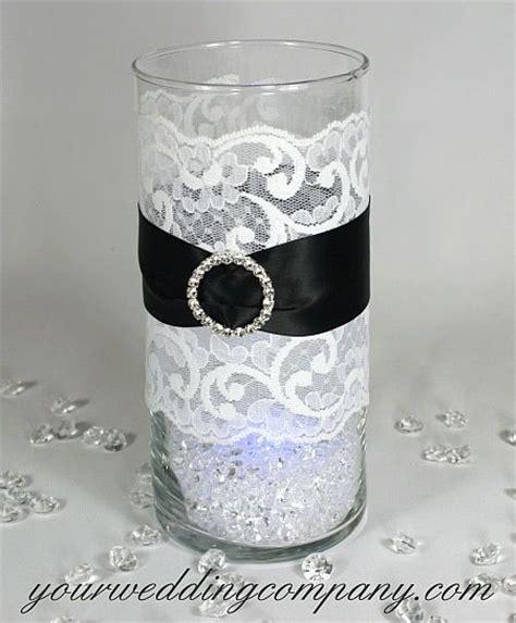 black and white table centerpieces 25 best lace centerpieces ideas on lace vase
