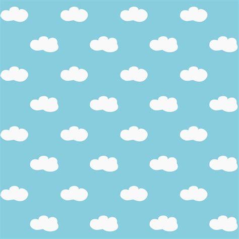 Paper Pattern - meinlilapark free digital fluffy clouds scrapbooking