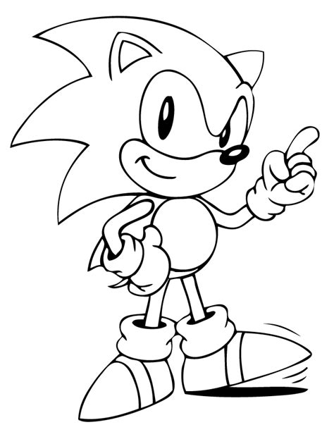 coloring pages sonic the hedgehog sonic coloring pages coloring home