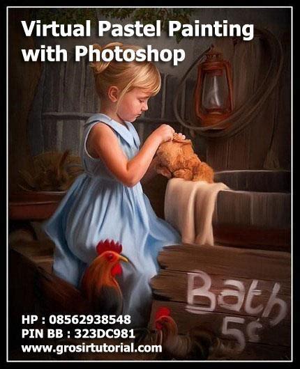 jual tutorial photoshop cs5 jual video tutorial virtual pastel painting with photoshop