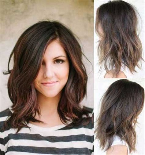 bob hairstyles for round faces and thick hair most beloved long bob styles for round face bob