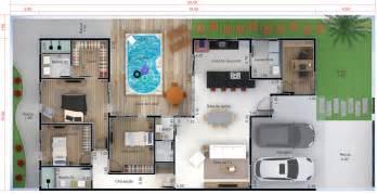fazer plantas de casas planta de casa t 233 rrea piscina planta para terreno