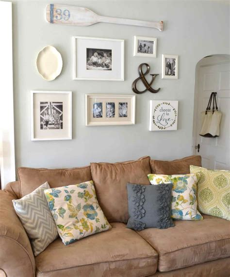 decorating wall behind sofa awesome farmhouse wall decor behind couch sofa sized art