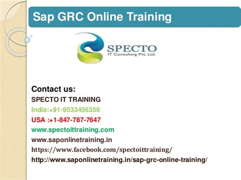 sap grc tutorial pdf sap grc online training in usa sap grc online training