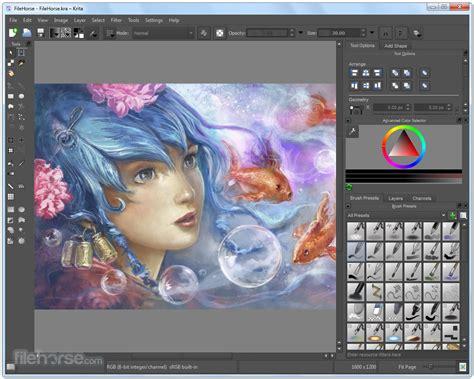 painting free version krita 3 3 3 32 bit for windows filehorse