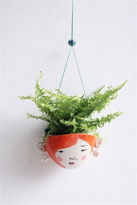 small hanging plants ceramic mini hanging planter for small plants by jo