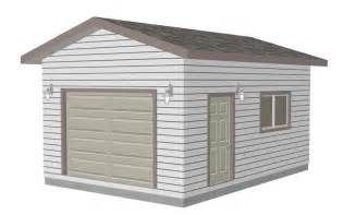 Garage Plan by The G443 14 X 20 X 10 Garage Plan Free House Plan